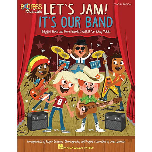 Hal Leonard Let's Jam! It's Our Band Performance/Accompaniment CD Composed by Roger Emerson thumbnail