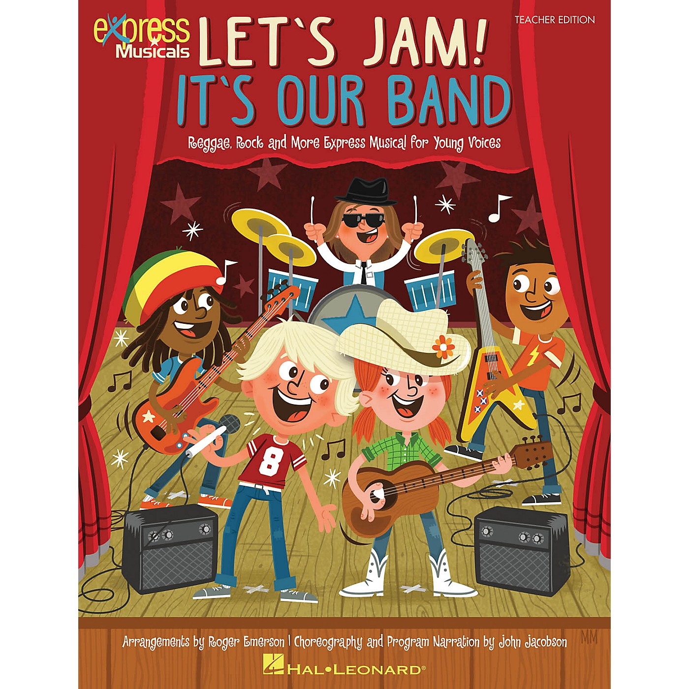 Hal Leonard Let's Jam! It's Our Band singer 20 pak Composed by Roger Emerson thumbnail