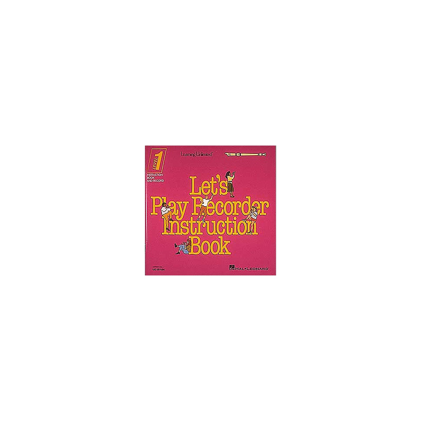 Hal Leonard Let's Play Recorder Instruction Book - Level 1 thumbnail