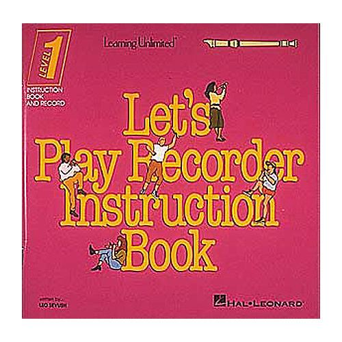 Hal Leonard Let's Play Recorder Instruction Book - Level 1 thumbnail