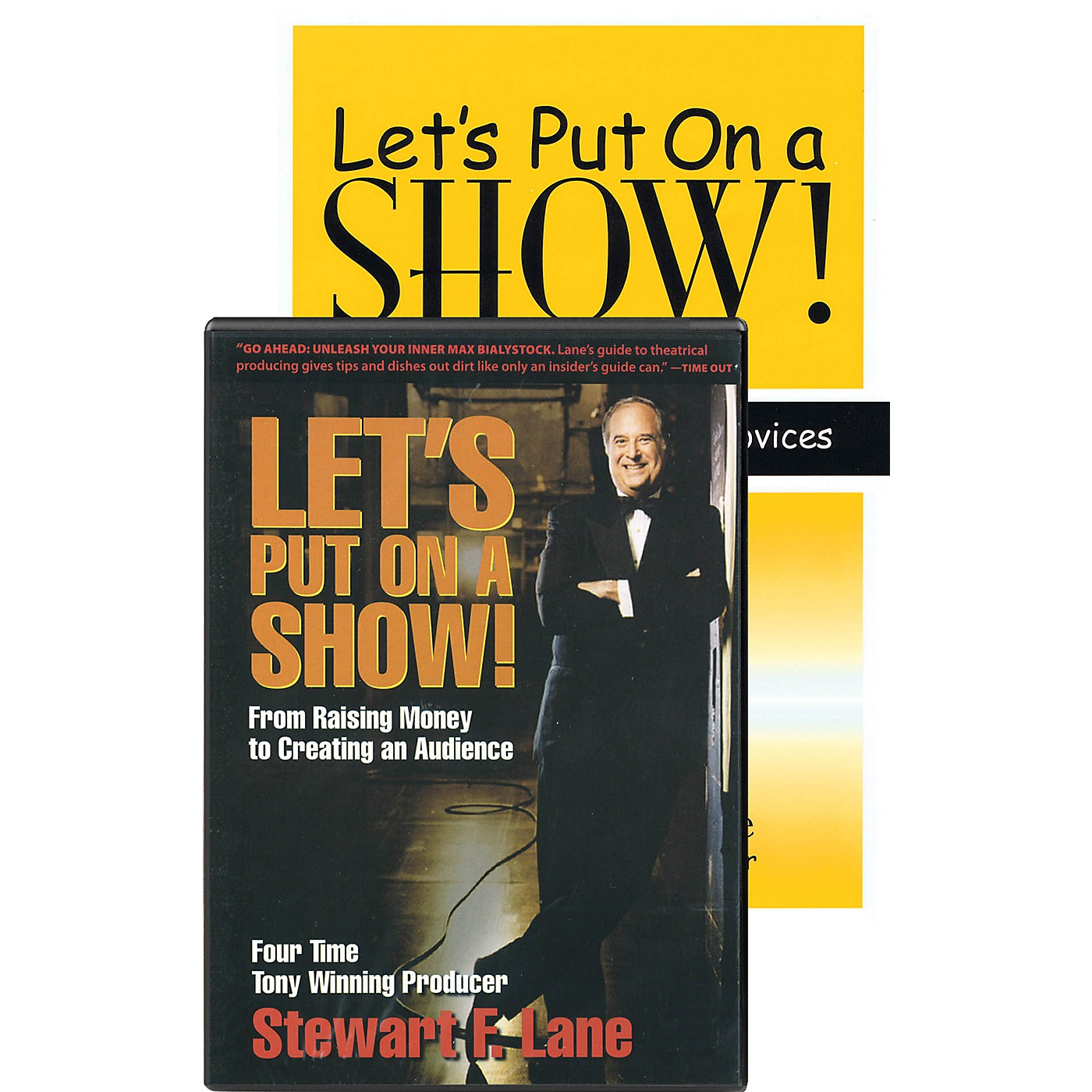 Heinemann Drama Let's Put on a Show! Applause Books Series Softcover with DVD-ROM Written by Stewart F. Lane thumbnail