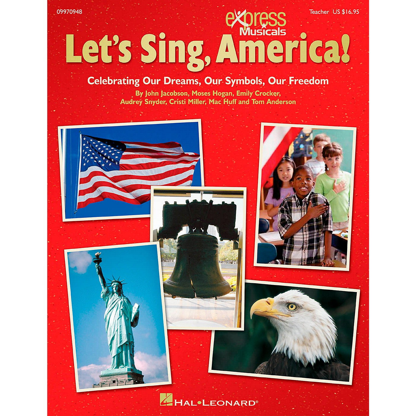 Hal Leonard Let's Sing America!  Celebrating Our Dreams, Our Symbols, Our Freedom ShowTrax CD thumbnail