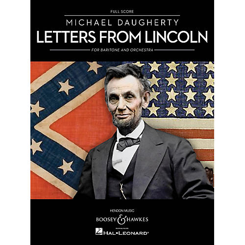 Boosey and Hawkes Letters from Lincoln for Baritone and Orchestra Boosey & Hawkes Softcover by Michael Daugherty thumbnail