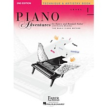 Faber Piano Adventures Level 1 - Technique & Artistry Book - Original Edition Faber Piano Adventures Book by Nancy Faber