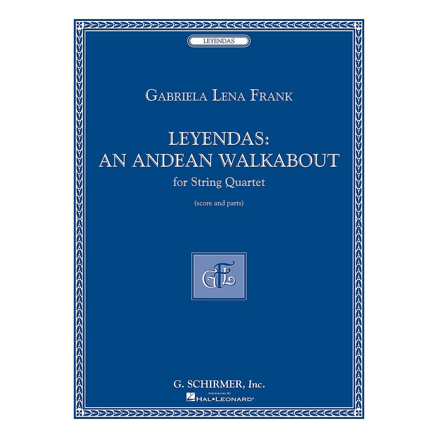 G. Schirmer Leyendas - An Andean Walkabout (String Quartet Score and Parts) String Series by Gabriela Lena Frank thumbnail