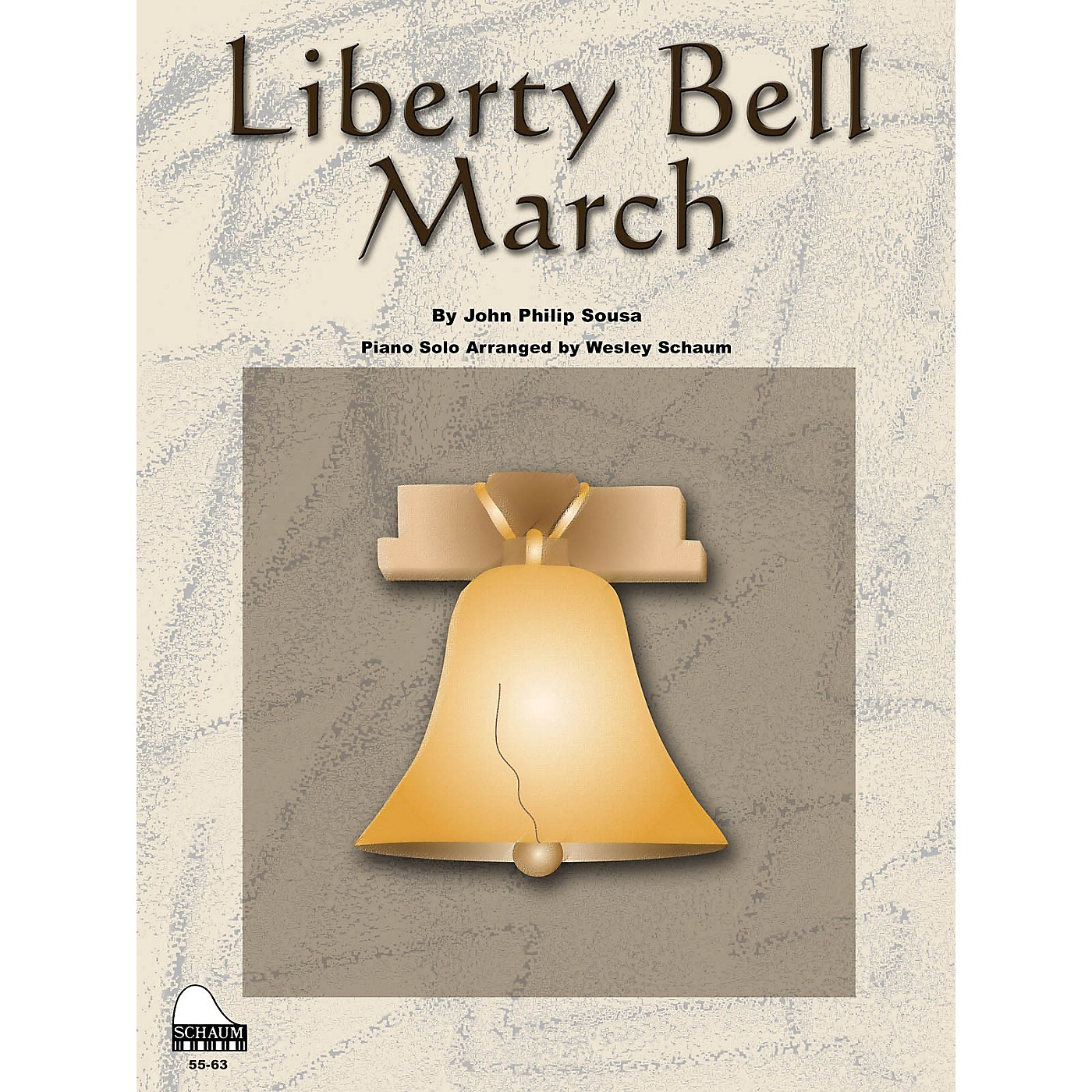 SCHAUM Liberty Bell March Educational Piano Series Softcover thumbnail