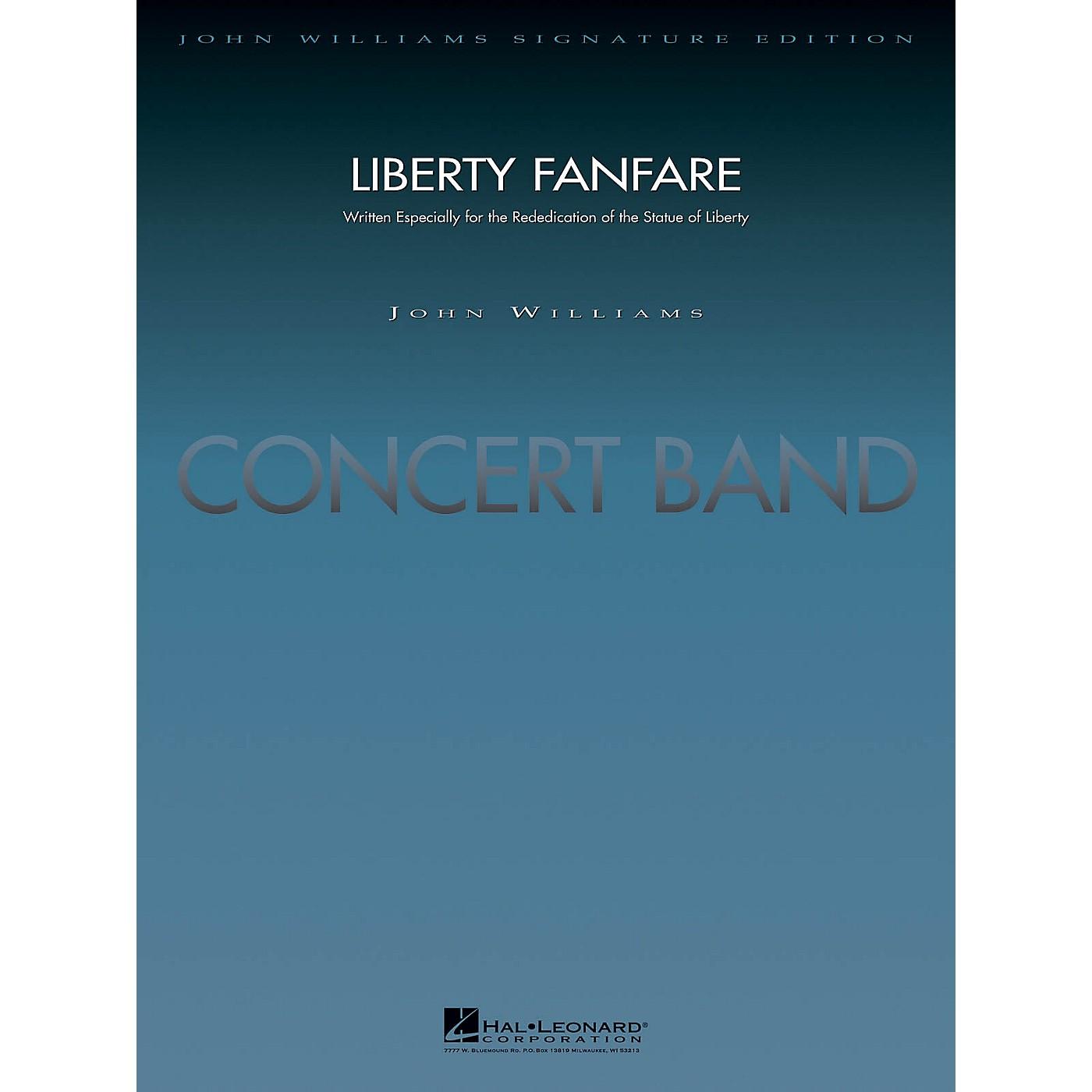 Hal Leonard Liberty Fanfare (Deluxe Score) Concert Band Level 5 Arranged by Jay Bocook thumbnail