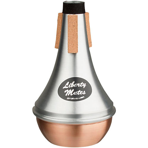 Protec Liberty Trumpet Straight Aluminum Mute With Copper End thumbnail