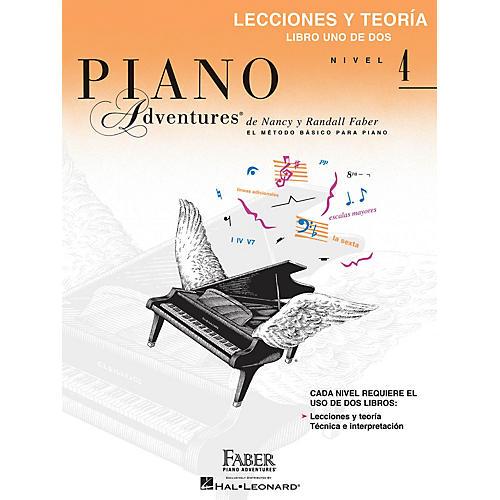Faber Piano Adventures Libro de lecciones y teoría, Nivel 4 Faber Piano Adventures® Series Softcover Written by Randall Faber thumbnail