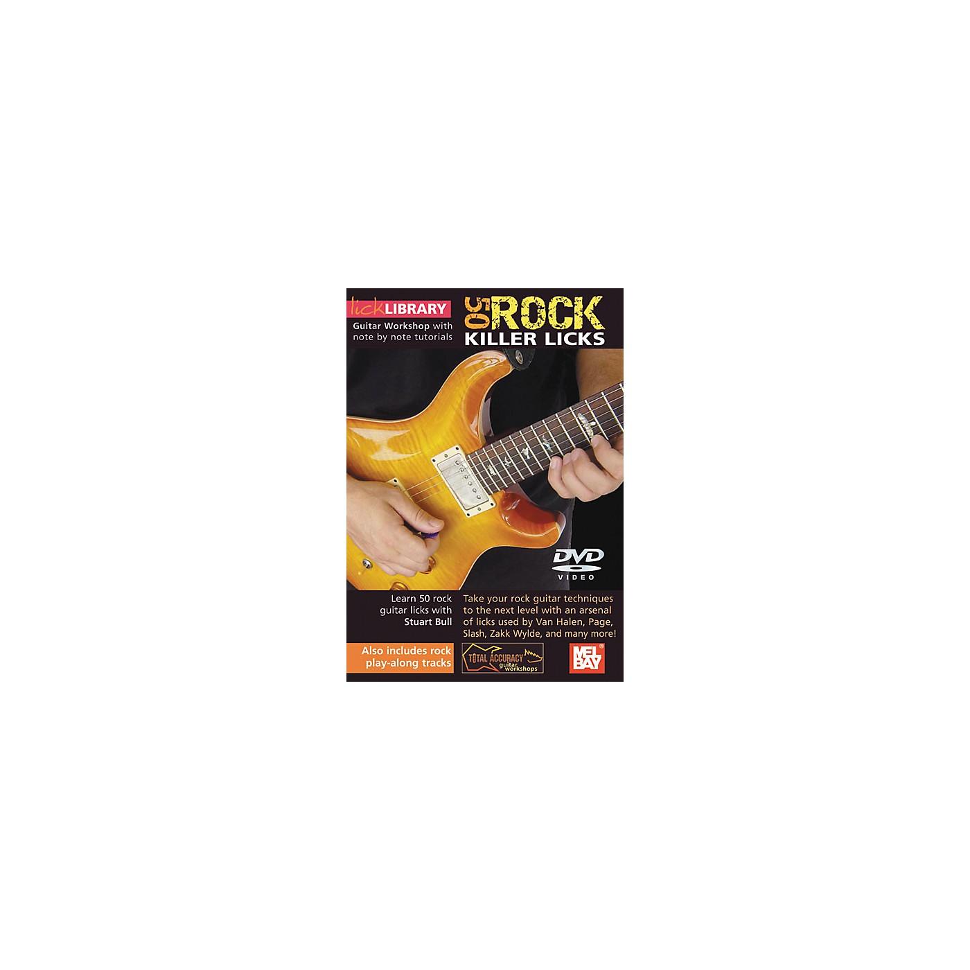 Mel Bay Lick Library Learn To Play 50 Rock Killer Licks DVD thumbnail