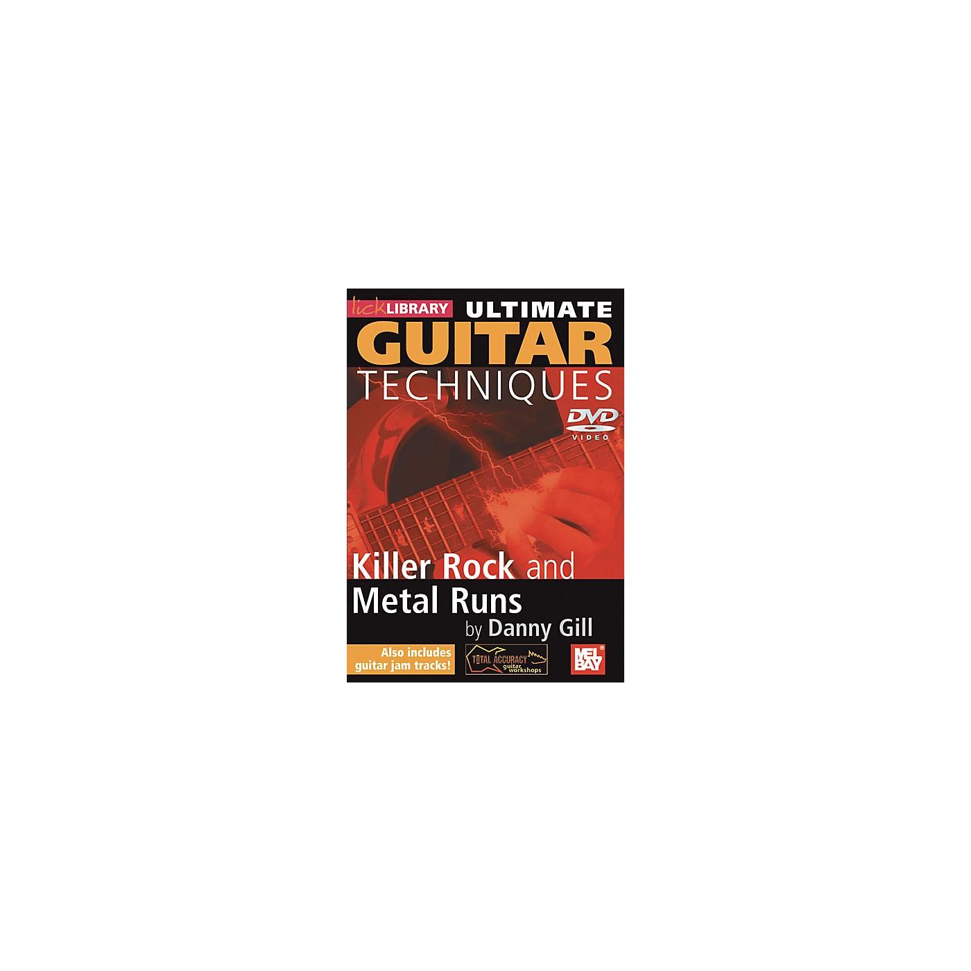Mel Bay Lick Library Ultimate Guitar Techniques: Killer Rock and Metal Runs DVD thumbnail