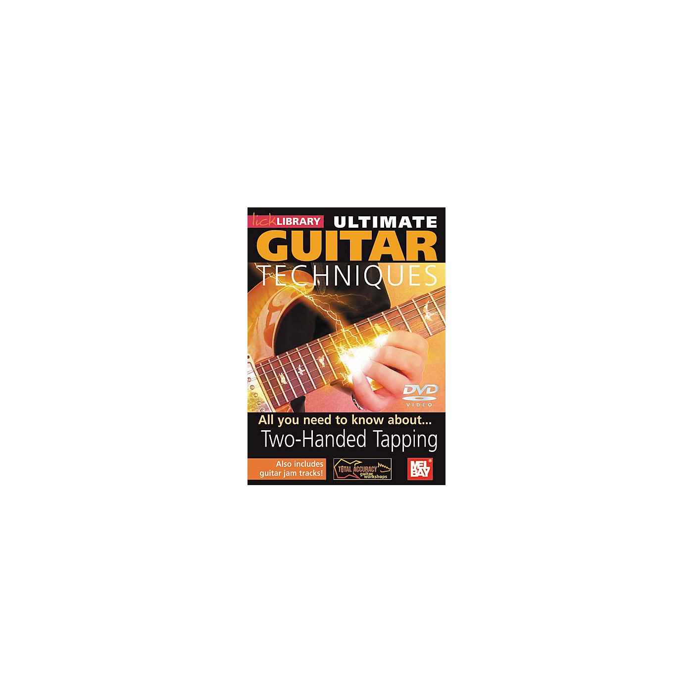 Mel Bay Lick Library Ultimate Guitar Techniques: Two-Handed Tapping DVD thumbnail