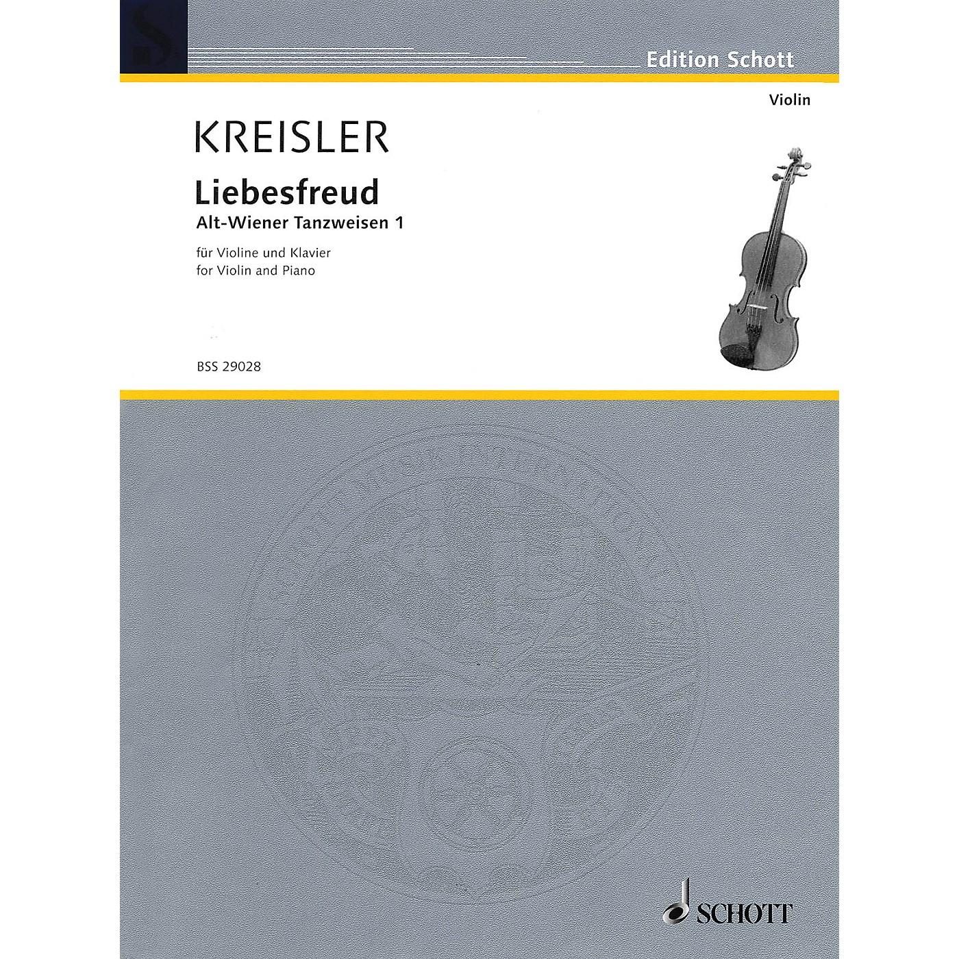 Schott Liebesfreud (Alt-Wiener Tanzweisen I) Schott Series thumbnail