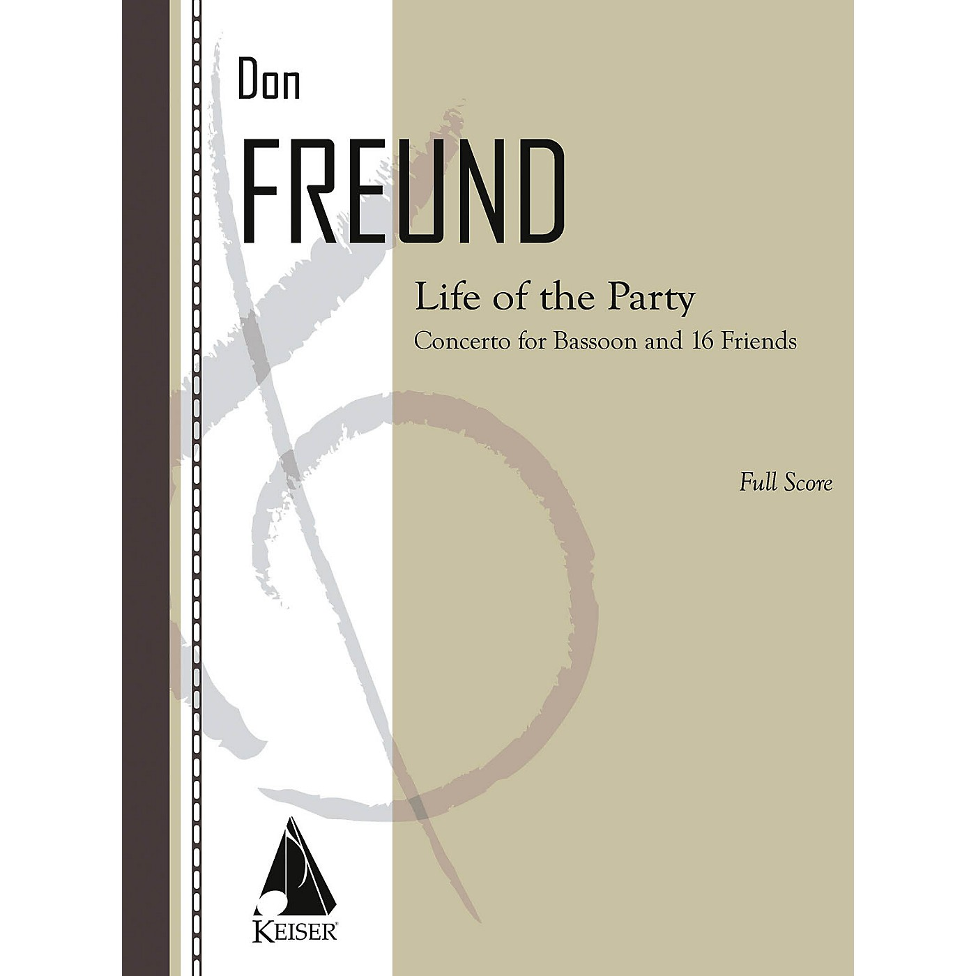 Lauren Keiser Music Publishing Life of the Party (Concerto for Bassoon and 16 Friends) LKM Music Series Composed by Don Freund thumbnail