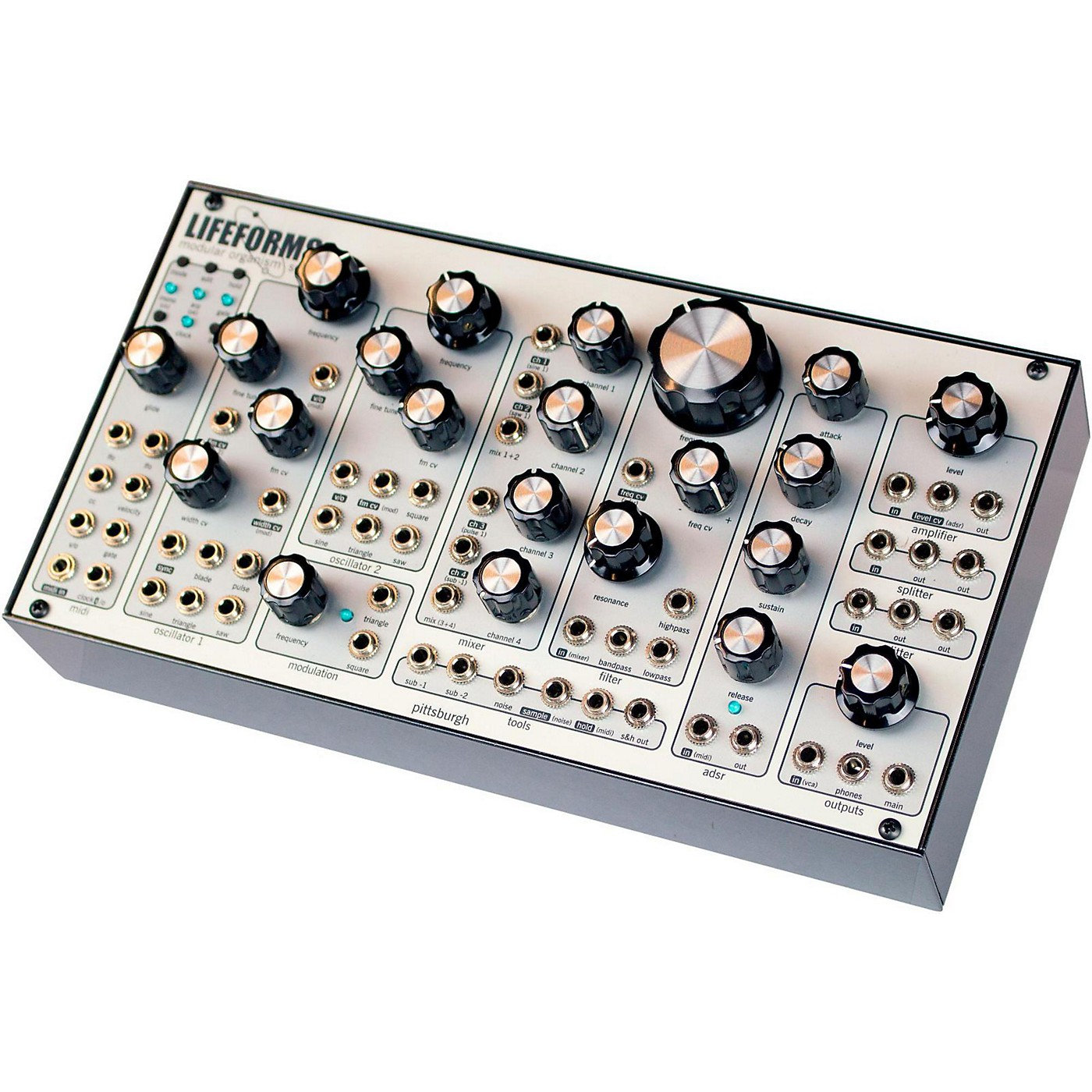 Pittsburgh Modular Synthesizers Lifeforms SV-1 Blackbox thumbnail
