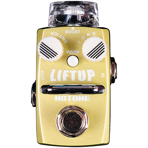 Hotone Effects Lift Up Clean Boost Skyline Series Guitar Effects Pedal thumbnail