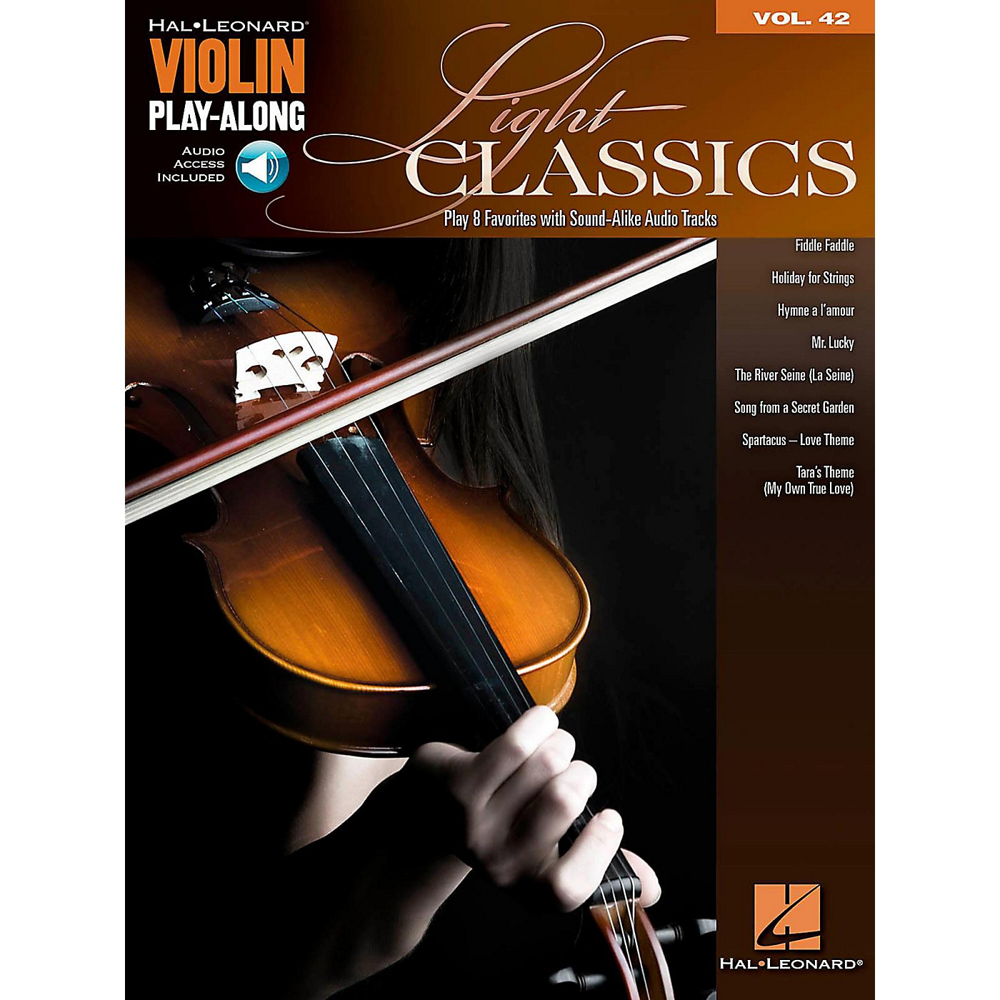 Hal Leonard Light Classics - Violin Play-Along Volume 42 Book/Online Audio thumbnail