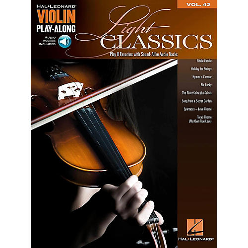 Hal Leonard Light Classics - Violin Play-Along Volume 42 Book/Online Audio-thumbnail