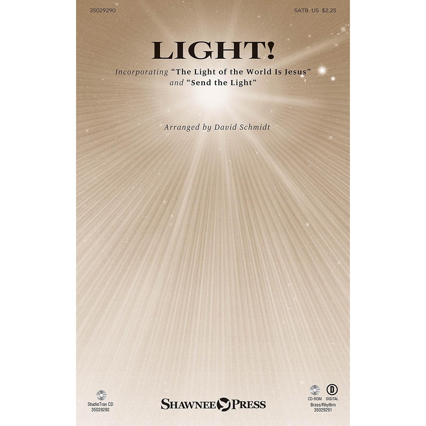 Shawnee Press Light! SATB composed by David Schmidt thumbnail