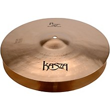 Kasza Cymbals Light Top/Heavy Flat Bottom Skinny Fat Rock Hi-hats