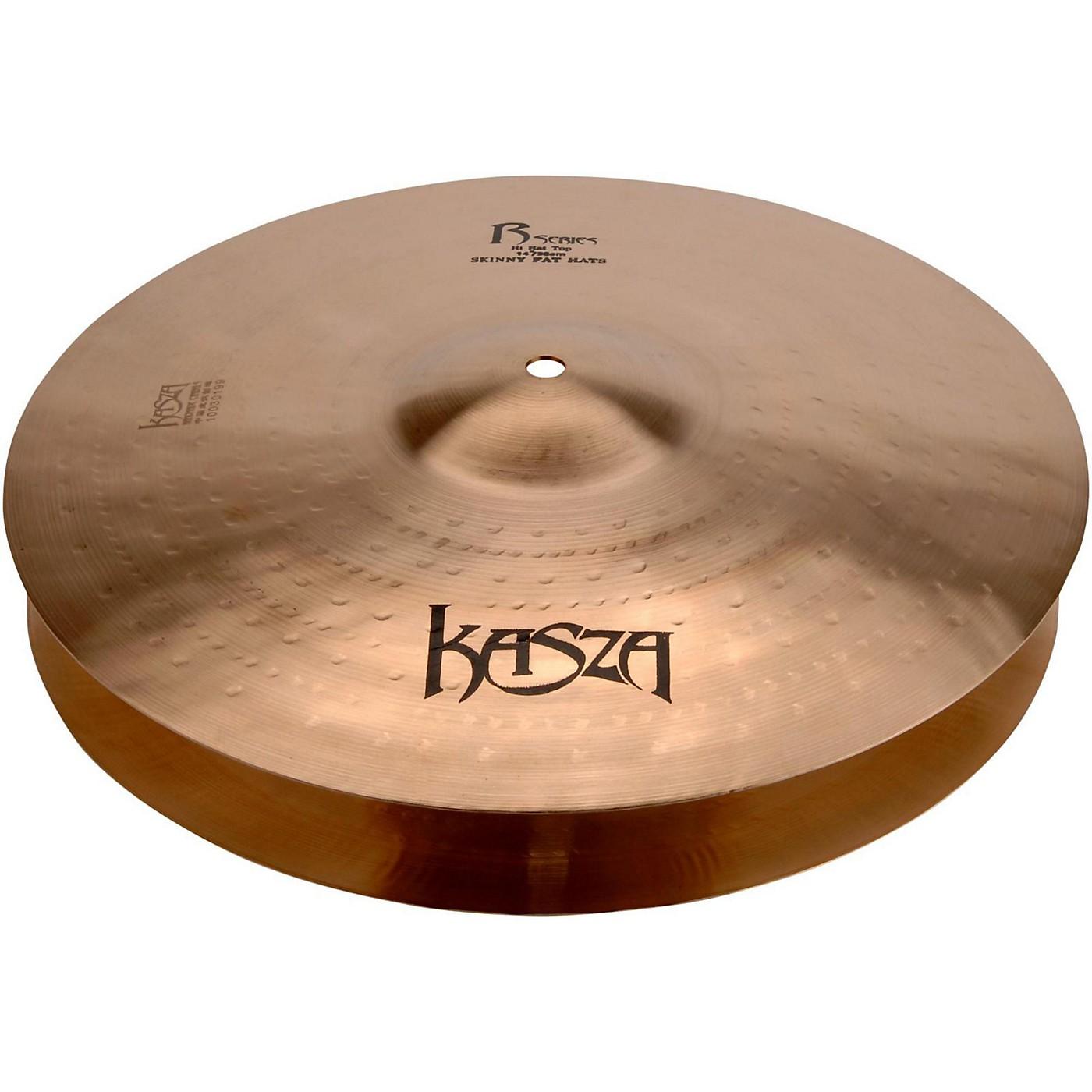 Kasza Cymbals Light Top/Heavy Flat Bottom Skinny Fat Rock Hi-hats thumbnail