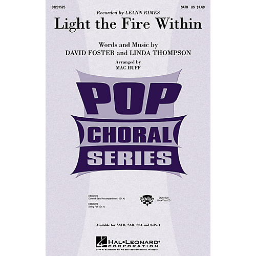 Hal Leonard Light the Fire Within (ShowTrax CD) ShowTrax CD by Lee Ann Rimes Arranged by Mac Huff thumbnail