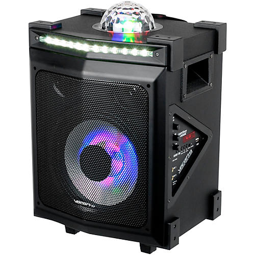 VocoPro LightShow Magic Battery-Powered Karaoke System with LED Lights and Bluetooth thumbnail