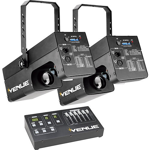 Venue Lighting Effects Dual Scanner Pack 250W thumbnail