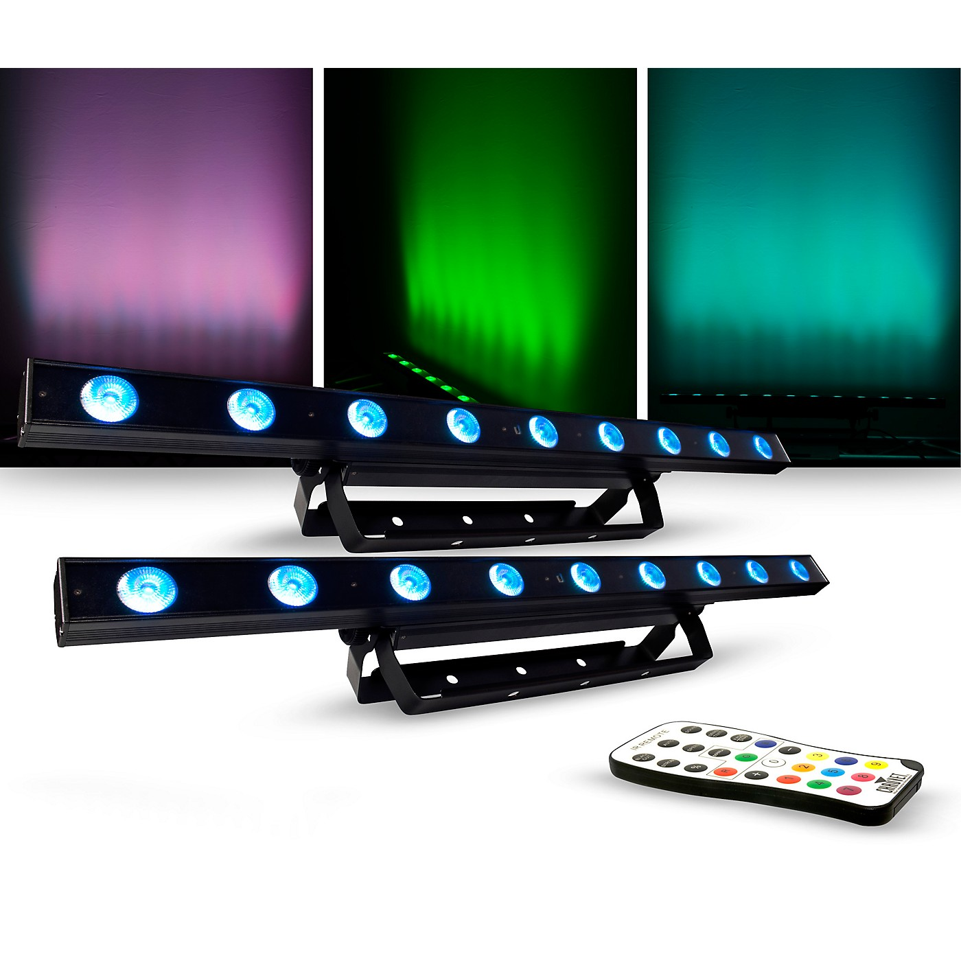 CHAUVET DJ Lighting Package with COLORband LED Effect Light and IR-6 Controller thumbnail