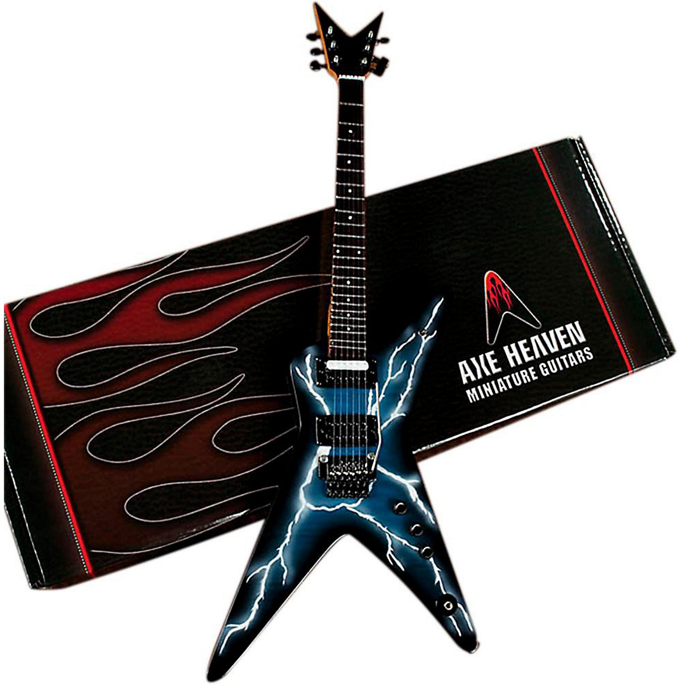 Axe Heaven Lightning Bolt Signature Model Miniature Guitar Replica Collectible thumbnail