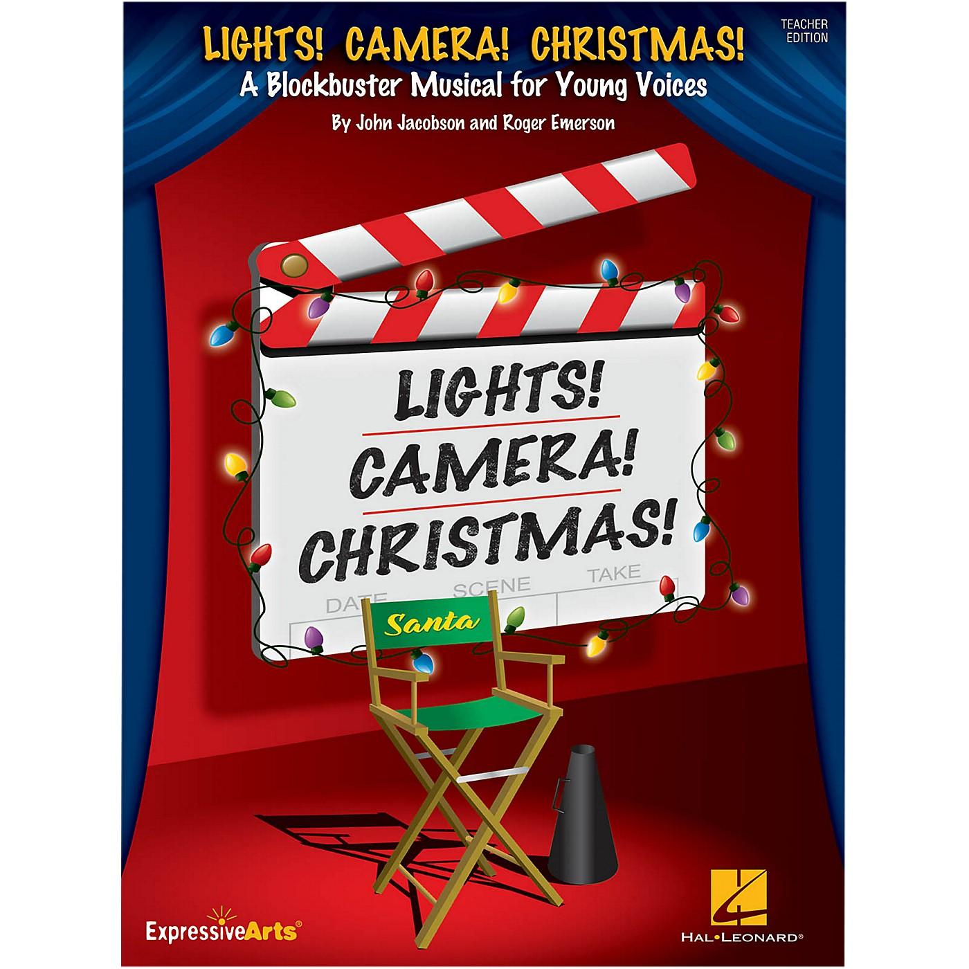 Hal Leonard Lights! Camera! Christmas! Performance/Accompaniment CD thumbnail