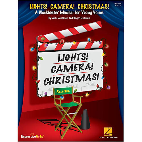 Hal Leonard Lights! Camera! Christmas! Performance/Accompaniment CD thumbnail