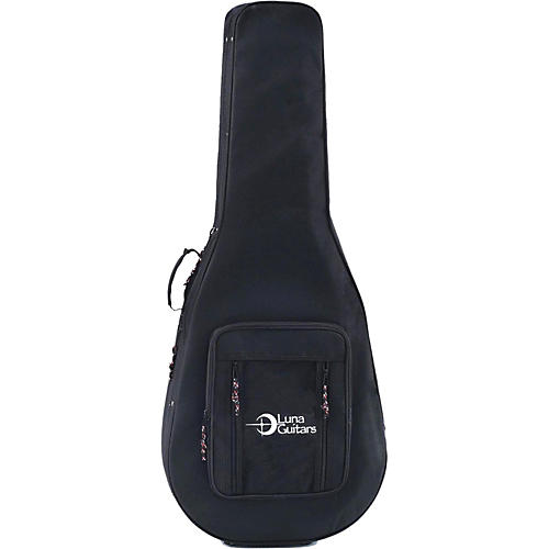 Luna Guitars Lightweight Case for Folk and Parlor Size Guitars-thumbnail
