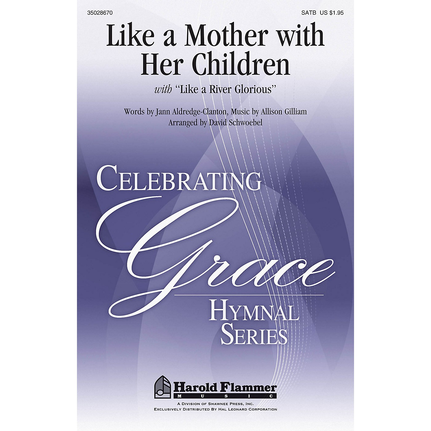 Shawnee Press Like A Mother With Her Children SATB arranged by David Schwoebel thumbnail