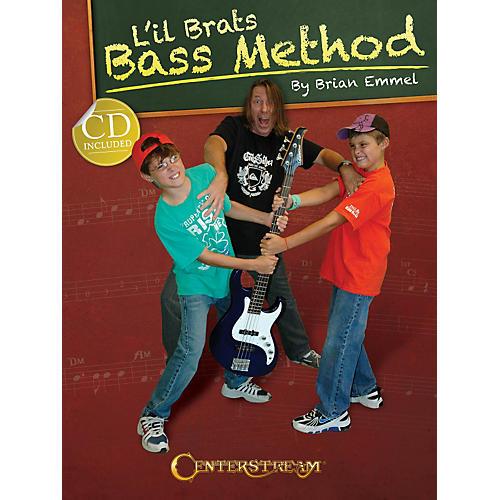 Centerstream Publishing L'il Brats Bass Method (Book/CD) thumbnail