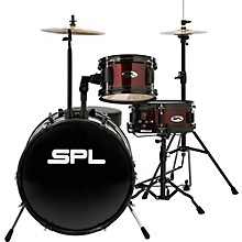 Sound Percussion Labs Lil Kicker - 3 Piece Jr Drum Set with Throne