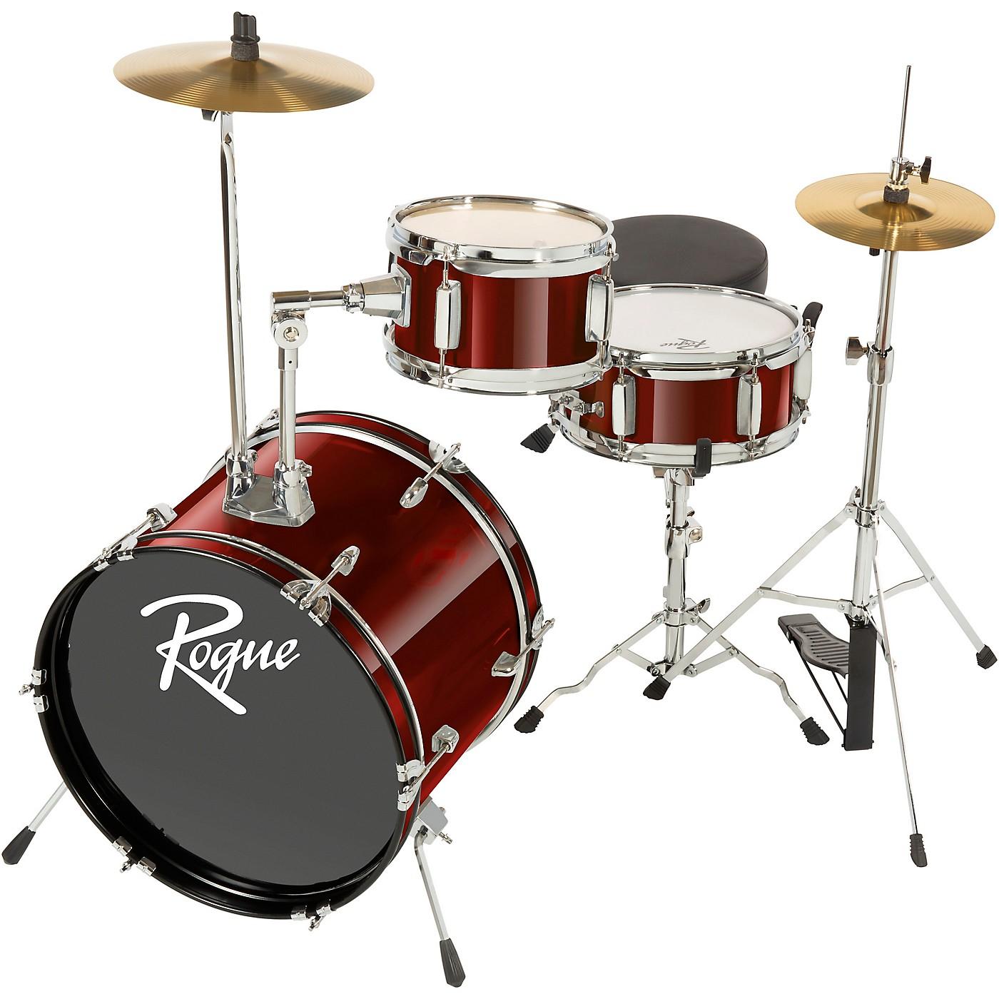 Rogue Lil' Kicker 3-Piece Junior Drum Set thumbnail