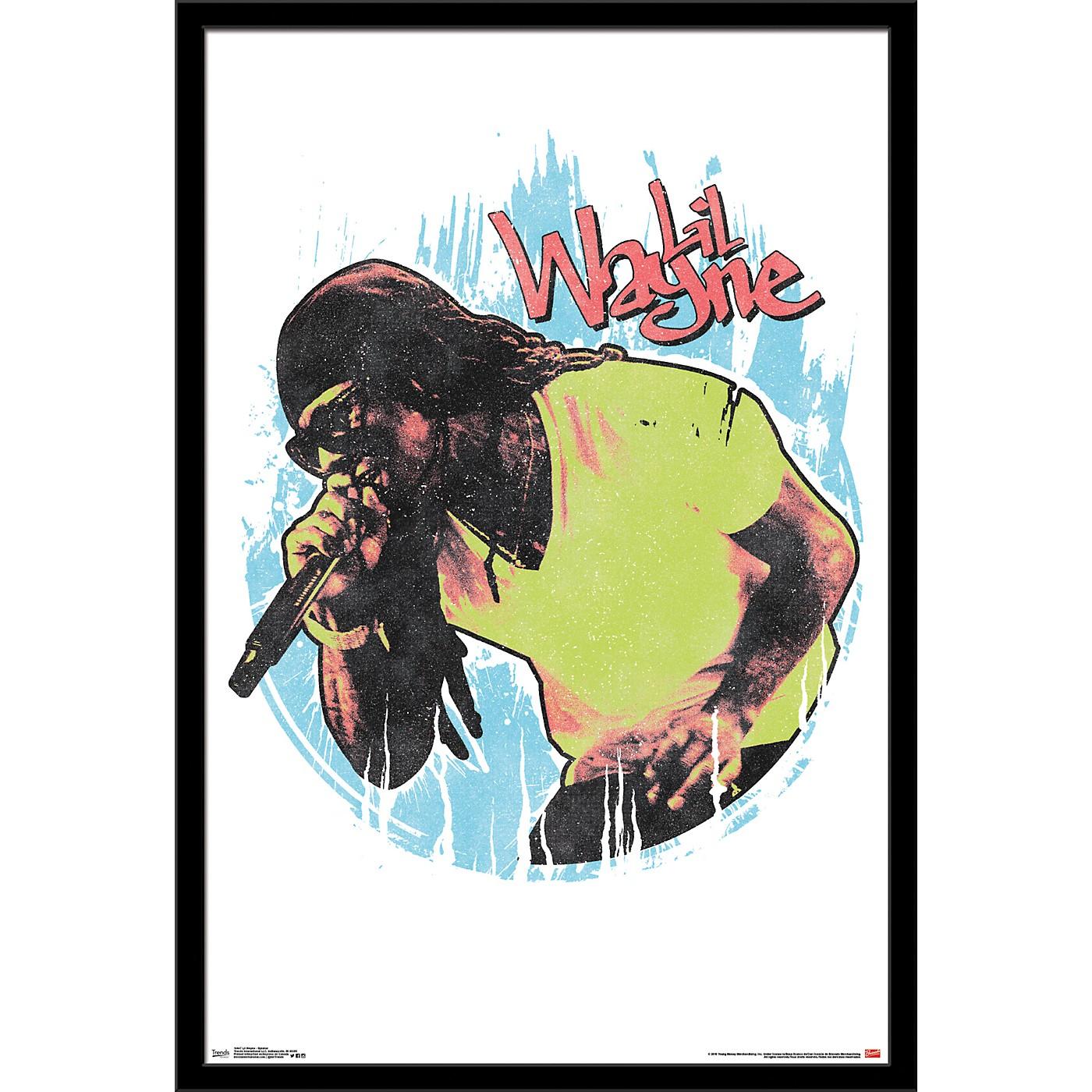 Trends International Lil Wayne - Splatter Poster thumbnail