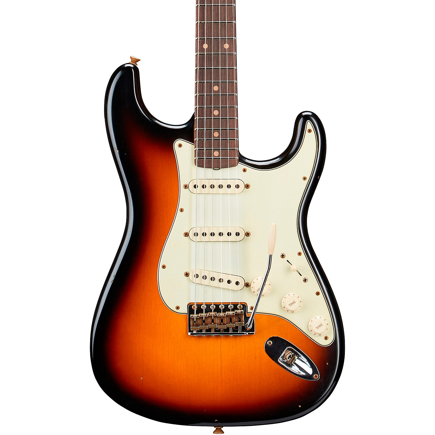 Fender Custom Shop Limited Edition 60 Stratocaster Journeyman Relic Rosewood Fingerboard Electric Guitar thumbnail