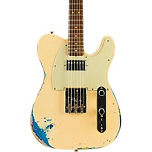 Fender Custom Shop Limited Edition '60s Telecaster HS - Aged White over Blue Flower