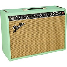 Fender Limited Edition '65 Deluxe Reverb Surf Green 22W 1x12 Tube Guitar Combo Amplifier
