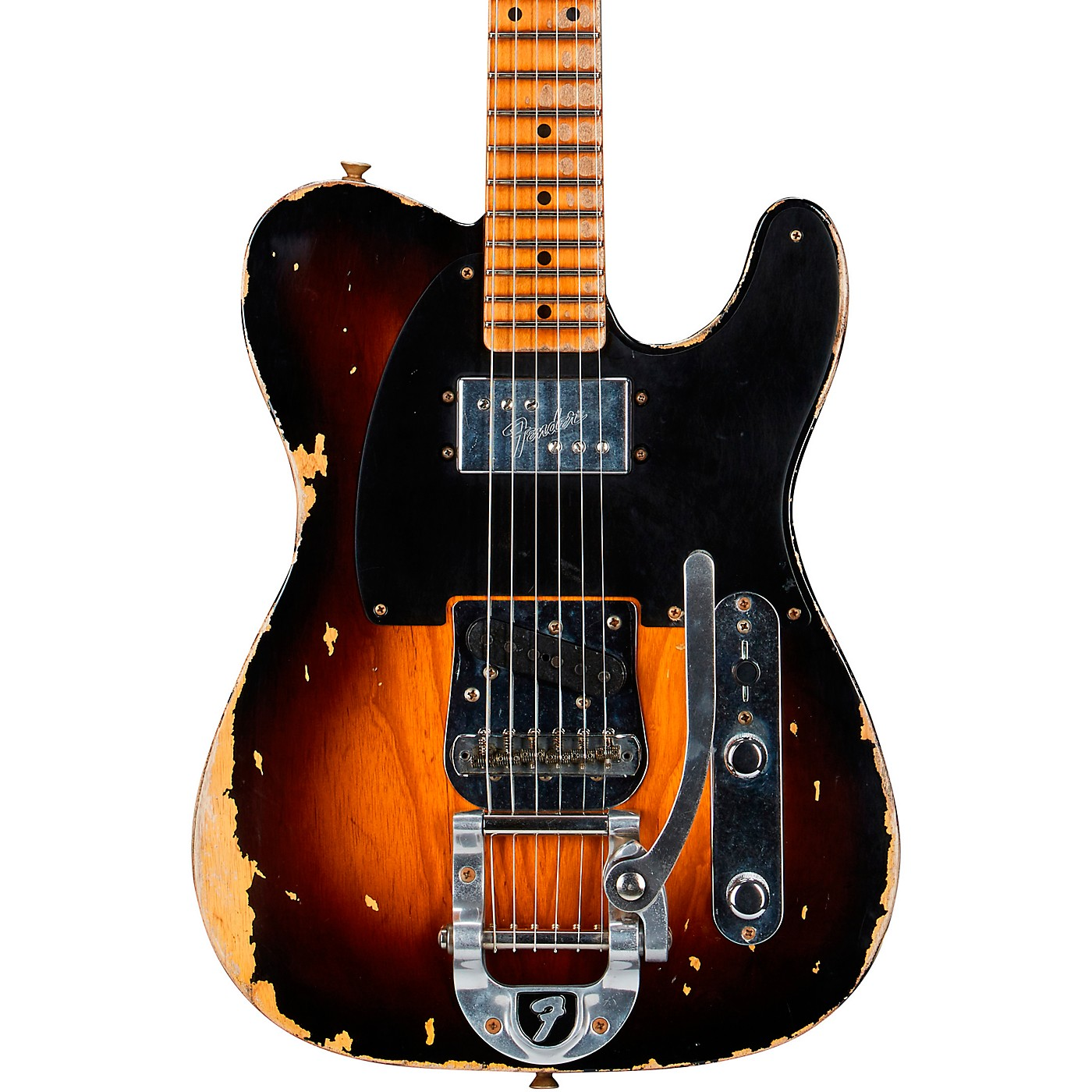 Fender Custom Shop Limited Edition Cunife Blackguard Telecaster Heavy Relic Electric Guitar thumbnail