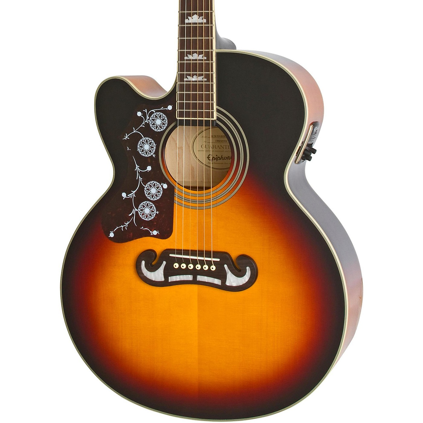 Epiphone Limited Edition EJ-200SCE Left-Handed Acoustic-Electric Guitar thumbnail