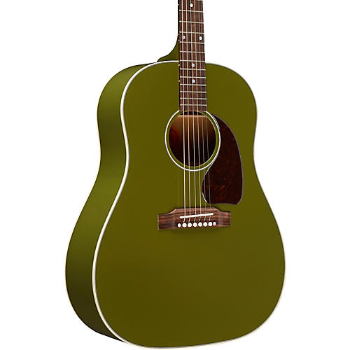 Gibson Limited Edition J-45 Olive Green Acoustic-Electric Guitar thumbnail