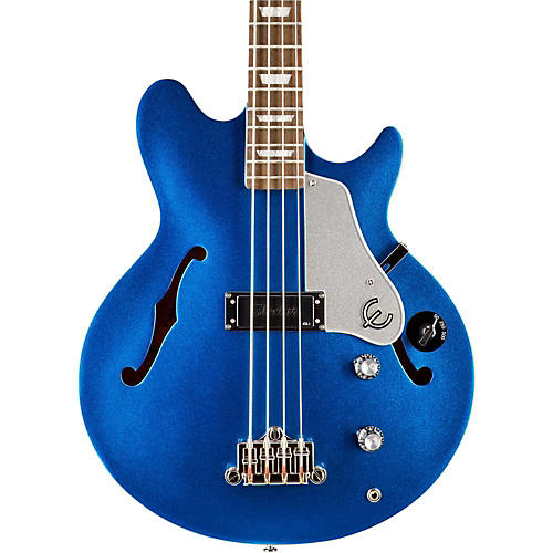 Epiphone Limited Edition Jack Casady Blue Royale Bass Guitar thumbnail