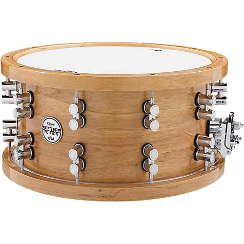 PDP by DW Limited Edition Maple/Walnut Snare Drum with Chrome Hardware thumbnail