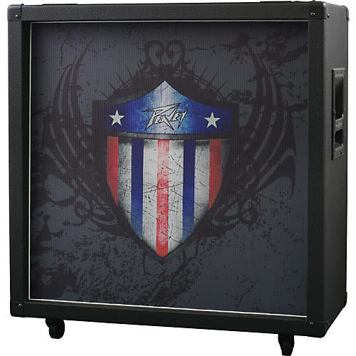 Peavey Limited Edition Patriotic 4x12 Guitar Speaker Cabinet thumbnail