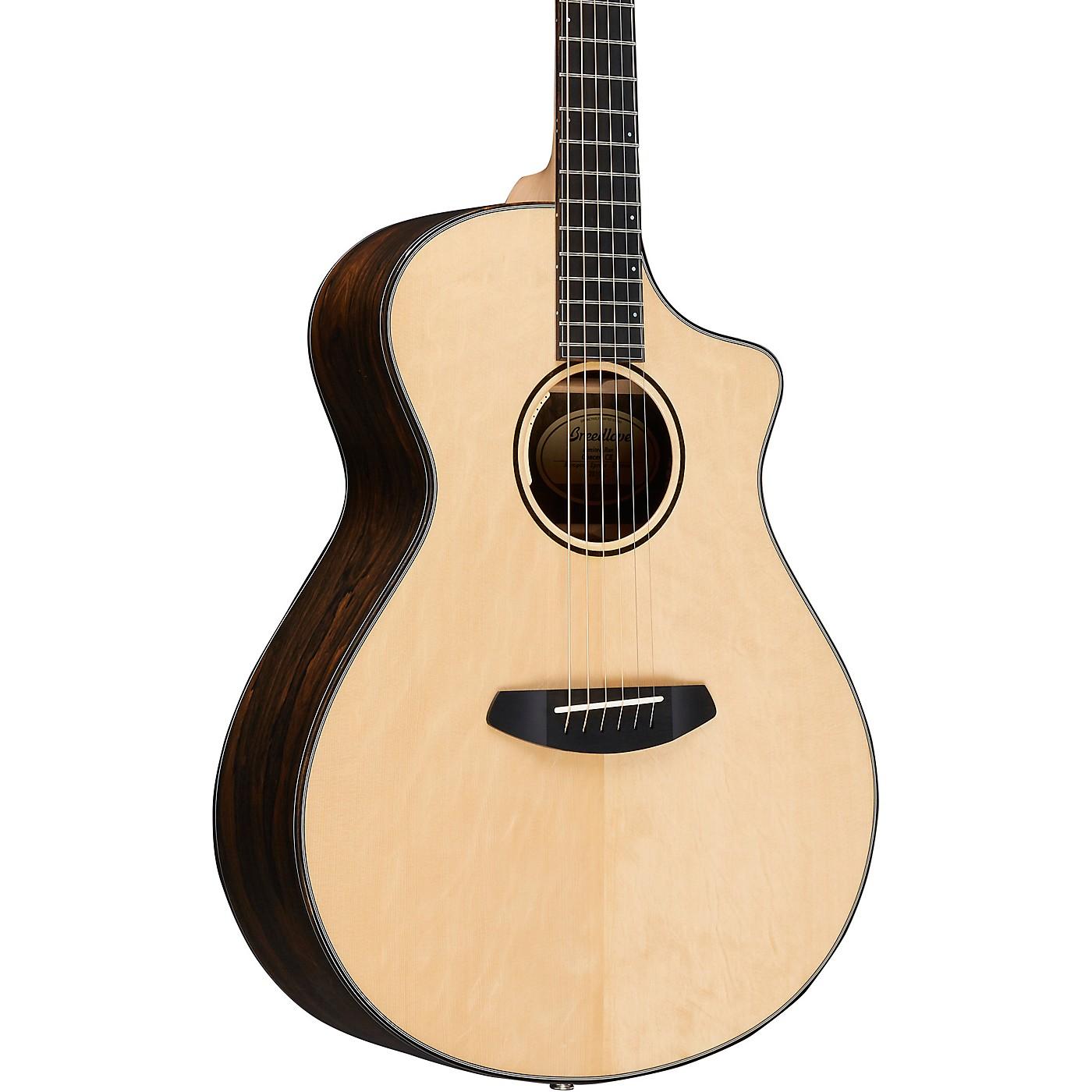 Breedlove Limited Run Concert CE European Spruce-Ziricote Acoustic-Electric Guitar thumbnail