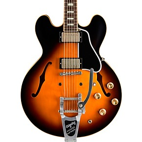 gibson limited run es-335 anchor stud bigsby vos semi-hollow electric  guitar - woodwind & brasswind