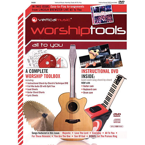 Integrity Music Lincoln Brewster - All to You (Vertical Music Worship Tools) Integrity Series by Lincoln Brewster thumbnail